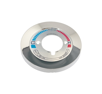 Escutcheon Plate for Symmons BP Series Tub & Shower Valves with  Diverter/Volume Control