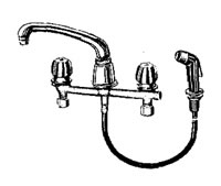 Crane Capri Kitchen Faucets